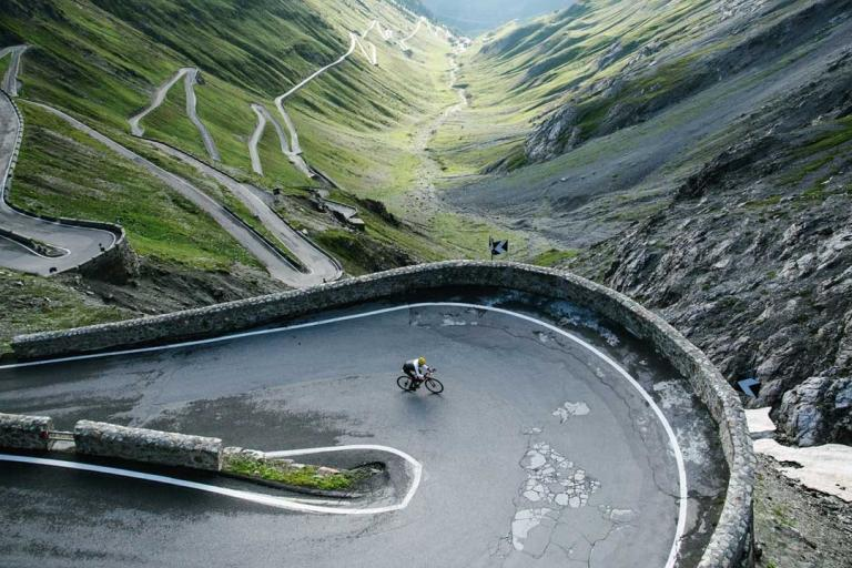 Mike Cotty on the Stelvio (©Col Collective)