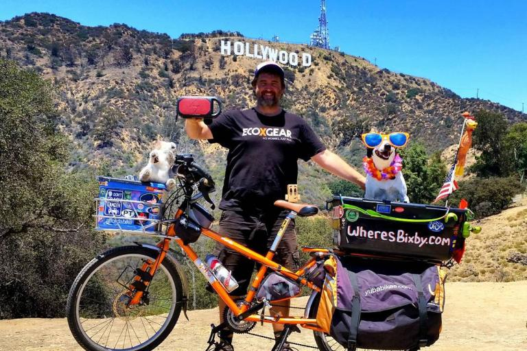 Mike and Bixby in Hollywood