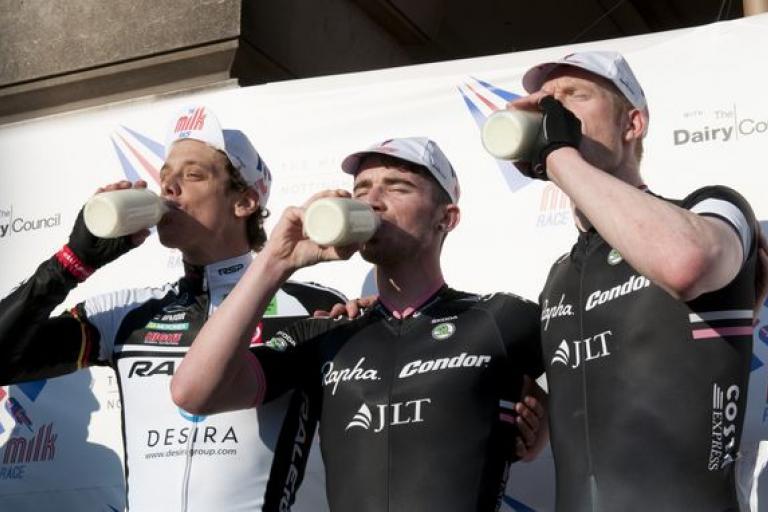 Milk Race 2013 Men's Podium