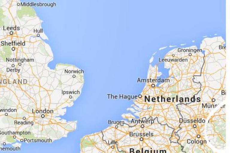 North Sea (source Google Maps)