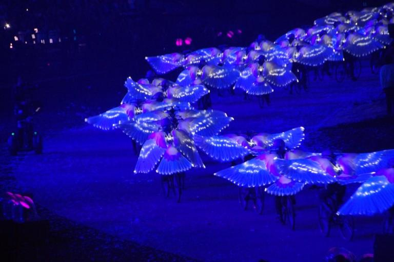 Olympic Opening Ceremony dove bike pic credt CarlosVanVegas Flickr Creative Commons