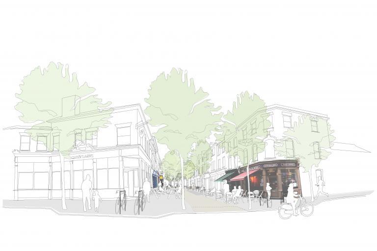 Orford Road visualisation