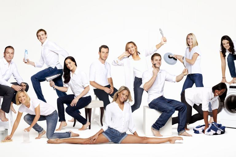 P and G Olympic Brand Ambassadors