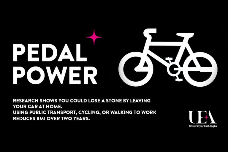 Pedal power graphic