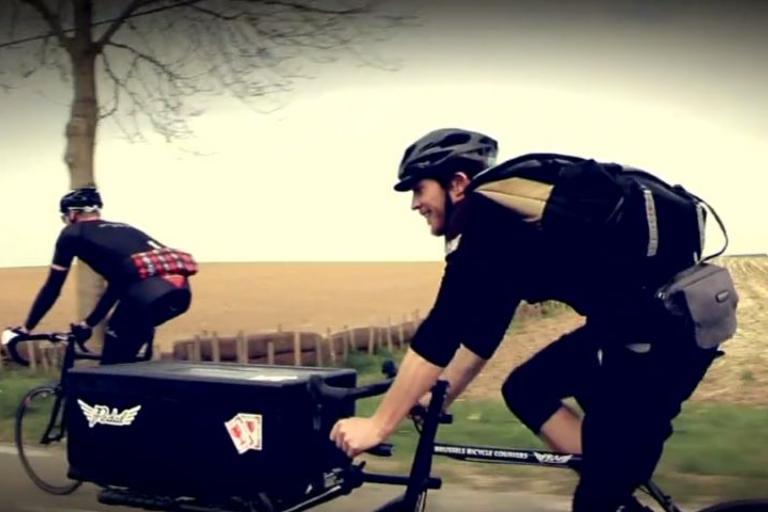 PedalBXL Tour of Flanders Cargo Bike