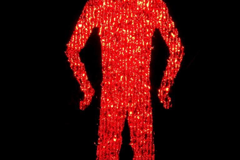 Pedestrian Crossing red man (picture Dominc's pics, Flickr, Creative Commons CC BY 2.0)