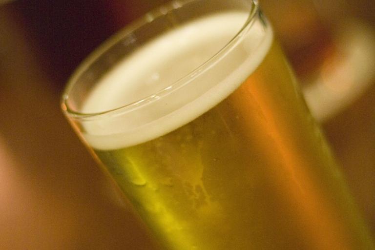 Pint of cider (CC licensed by Mark Hooper via Flickr)