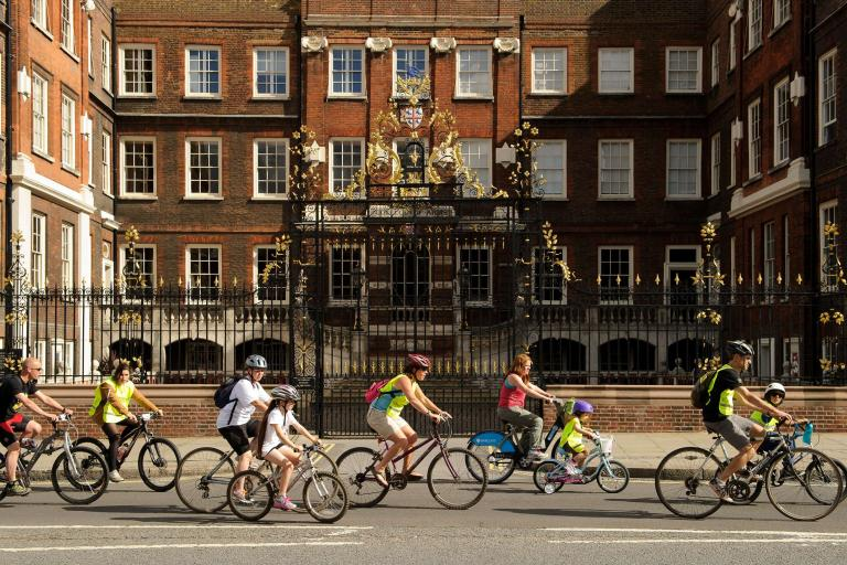 Prudential RideLondon FreeCycle (image via Prudential RideLondon website)