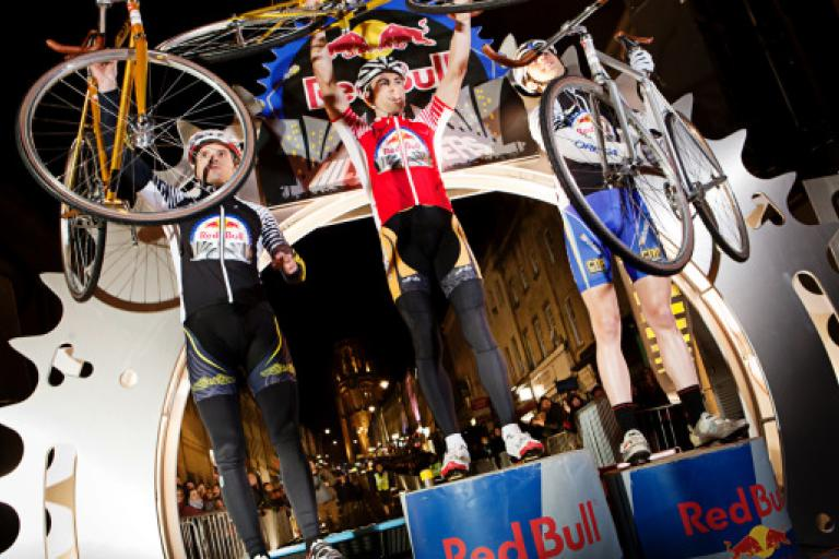 Red Bull Hill Chasers 2012 - podium (© Red Bull Media House)