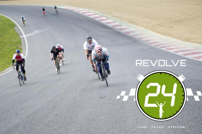 Revolve24 Brands Hatch hill logo