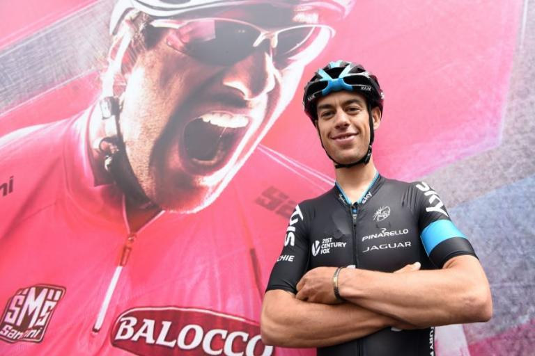 Richie Porte at 2015 Giro d'Italia (picture ANSA, Daniele Dal Zennaro)