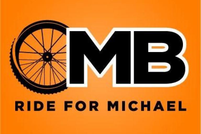 Ride for Michael logo