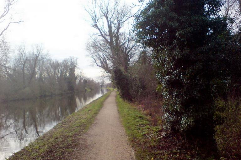 River Cam towpath (CC licensed by Paul Oldham via Flickr)