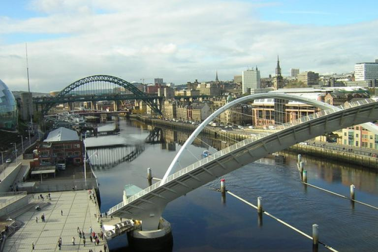 River Tyne (Rob Bishop-Wikimedia Commons
