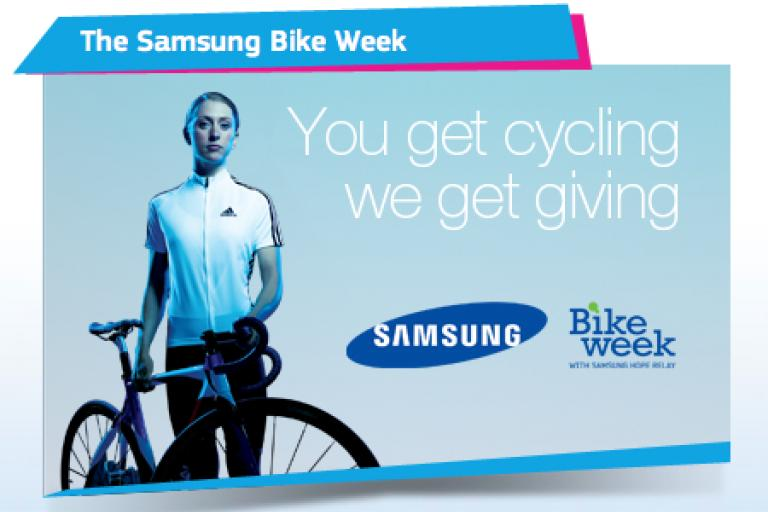 Samsung Bike Week Laura Trott