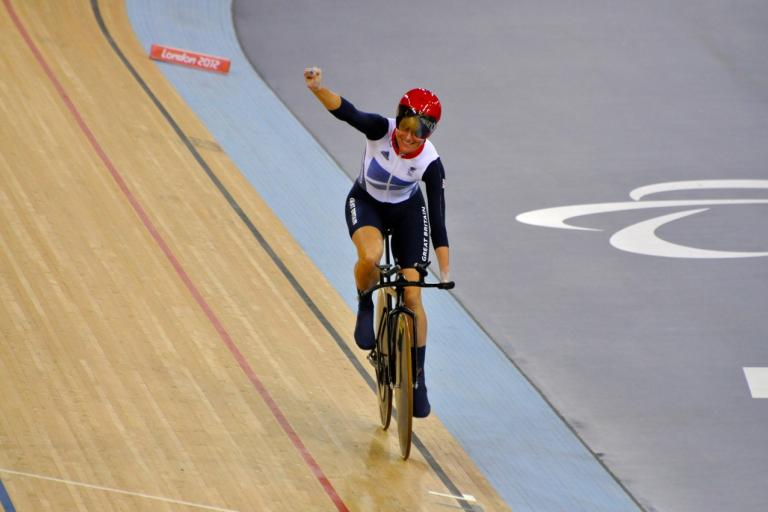 Sarah Storey Paralympic Games, copyright The Department for Culture, Media and Sport