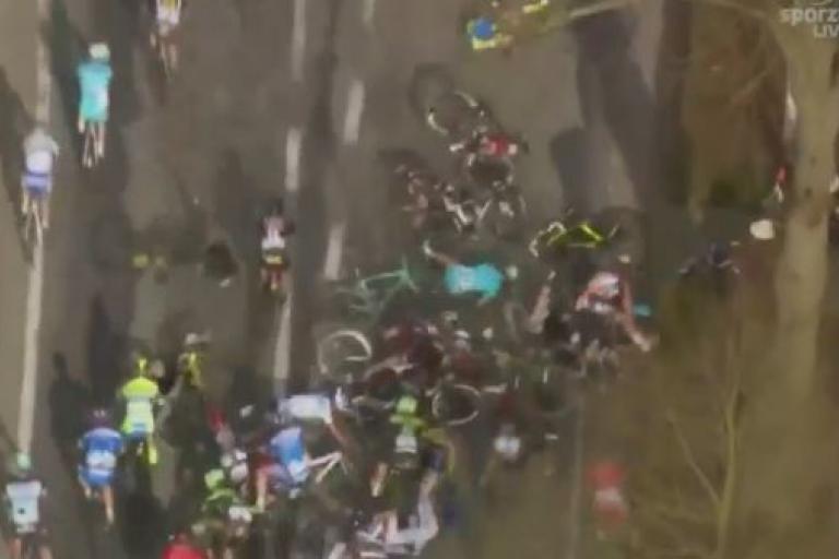 Scheldeprijs 2015 crash