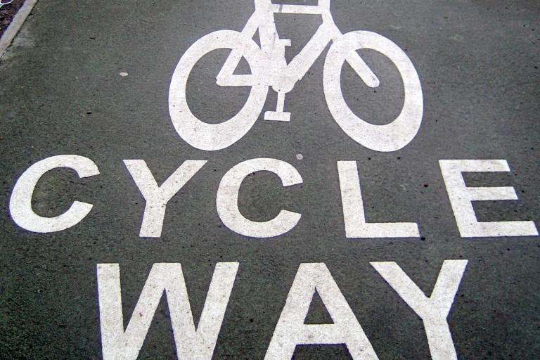 Scottish bike path Edinburgh Image by Flickr user psd