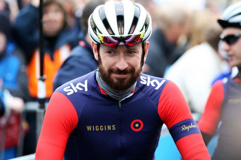 Sir Bradley Wiggins at Stage 2 of 2015 Tour de Yorkshire - picture Alex WhiteheadSWpix.com