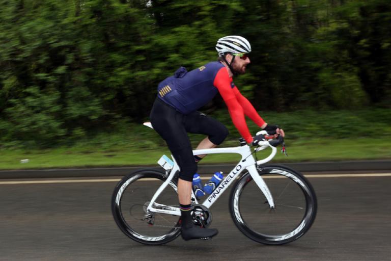 Sir Bradley Wiggins on Stage 3 of 2015 Tour de Yorkshire (picture Simon Wilkinson, SWPix.com)