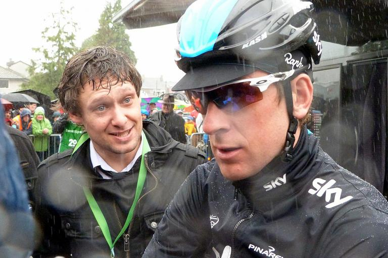 Sir Bradley Wiggins at the 2013 Tour of Britain (CC licensed image by Peter Broster:Flickr)