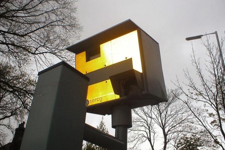 Speed camera (CC licensed image by DaveBleasdale:Flickr)