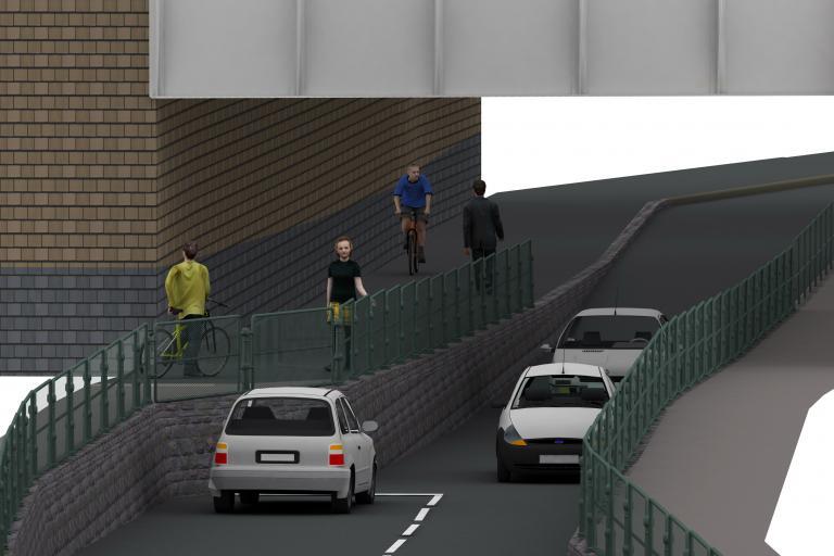 St Lukes railway bridge - digital preview