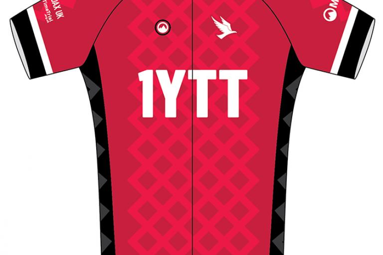 Steve Abraham One Year Time Trial Jersey by Milltag