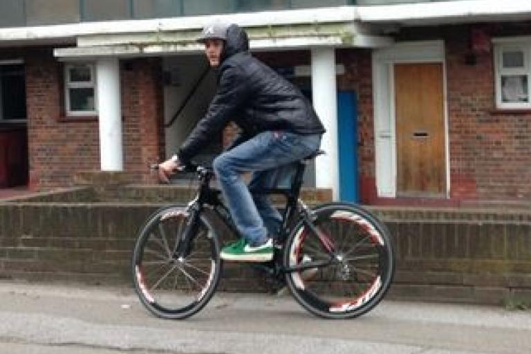 Stolen bike Hither Green 1