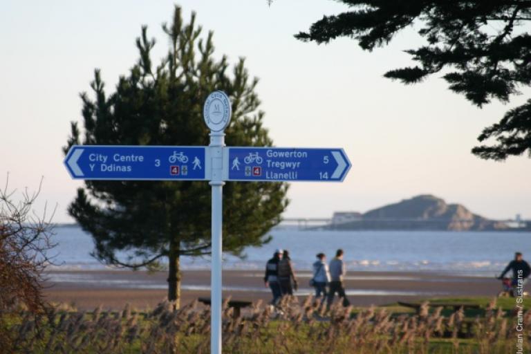 Sustrans Swansea NCN