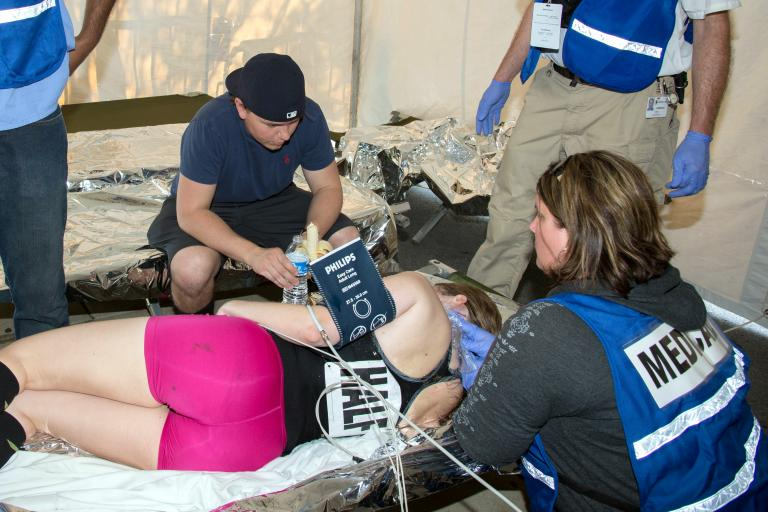 Swift medical attention improves survival after a cardiac arrest at sporting events (CC BY-NC-SA 2.0 Christiana Care:Flickr)