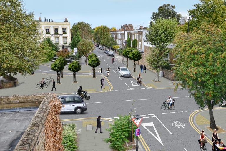 TfL CS1 consultation Culford Road.png