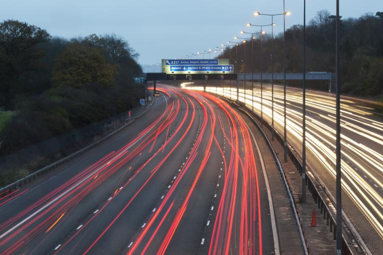 The M25 (CC licensed image by Highways Agency:Flickr)