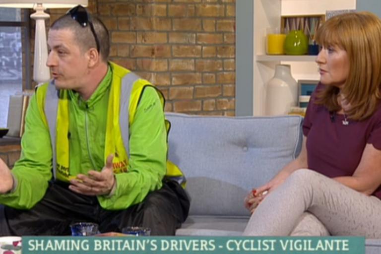 This Morning helmet cam debate