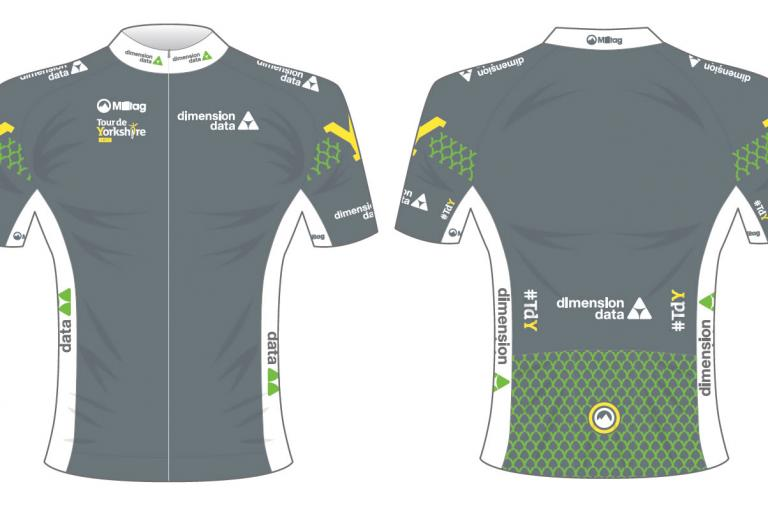 Tour de Yorkshire Dimensions Data digital jersey