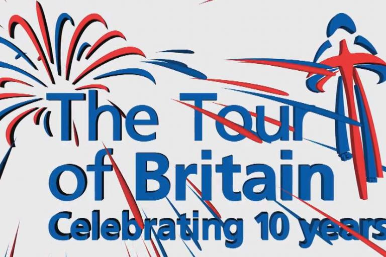 Tour of Britain celebrating 10 years