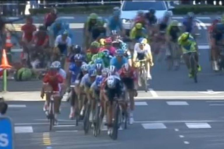 Tour of the Basque Country crash