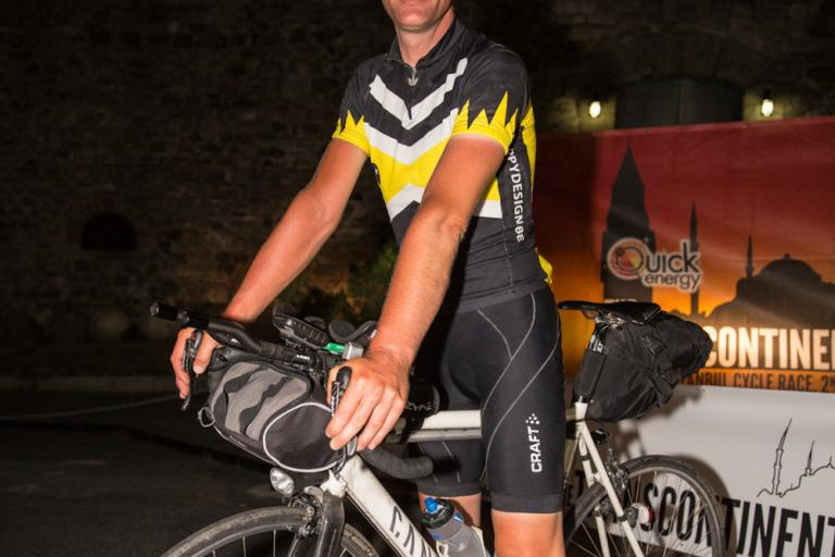 TransContinental Race winner Kristof Allegaert crop