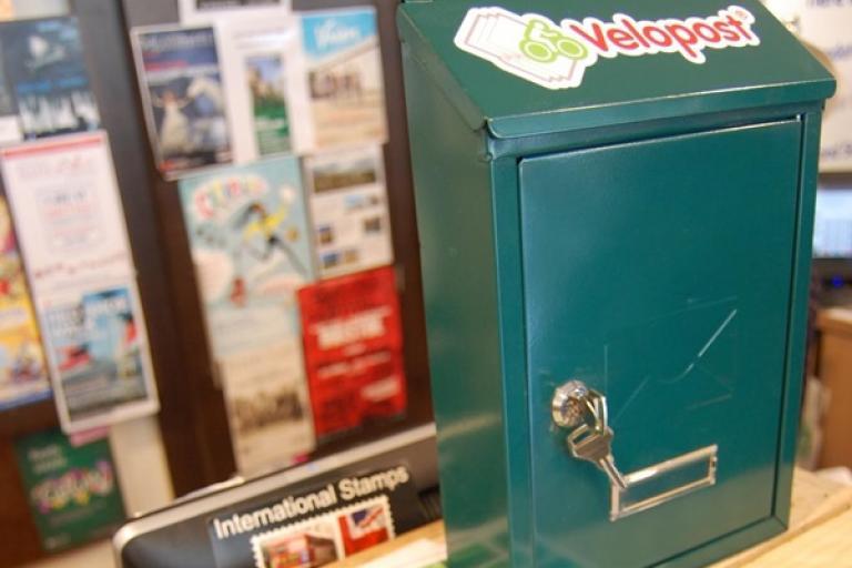 Velopost post box (Source VelopostSW via Twitter)