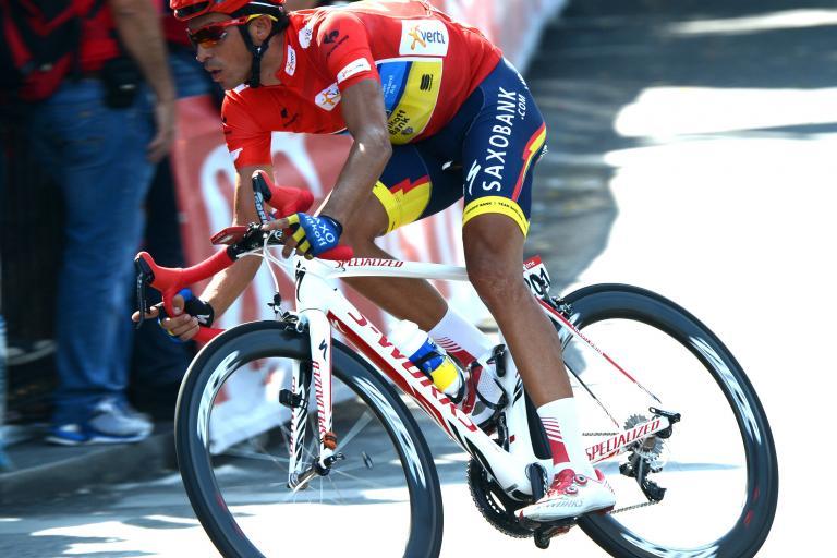 Vuelta 2012 S21 Alberto Contador on his way to victory in Madrid (copyright Unipublic:Graham Watson)