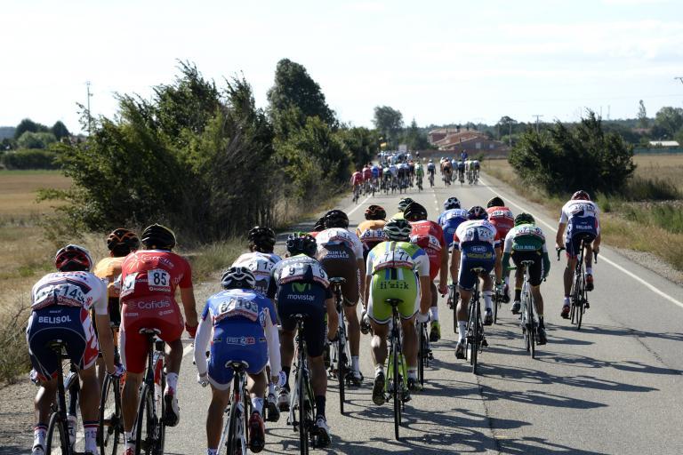 Vuelta 2013 Stage 17 Echelons (© Unipublic:Graham Watson)