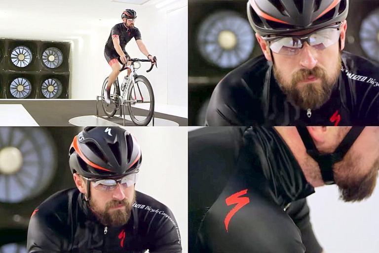 Wind Tunnel beard test screen shot