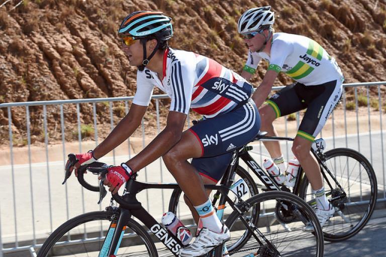 World Championship U23 road race 2014 - Alex Peters (copyright Britishcycling.org.uk)