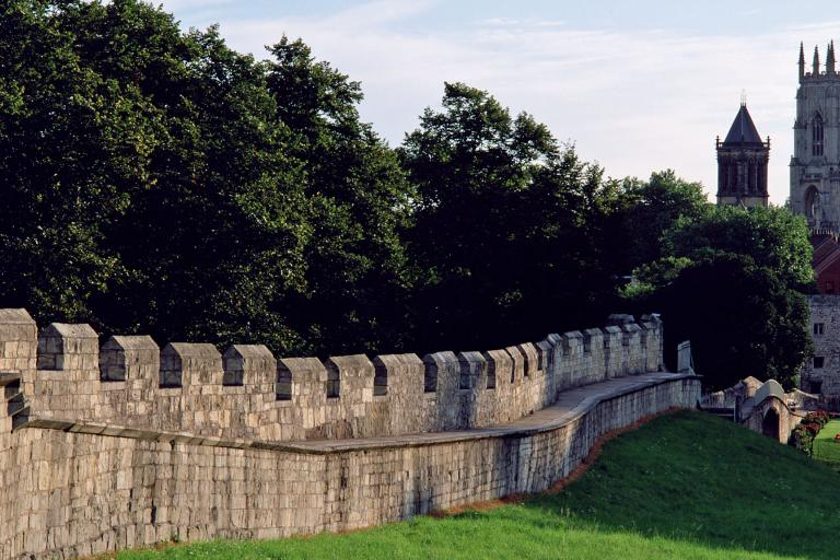 York City Walls and Minster (copyright WelcomeToYorkshire)