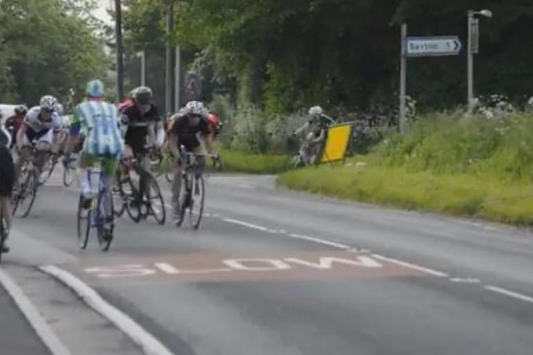 Yorkshire sportive versus road race YouTube still