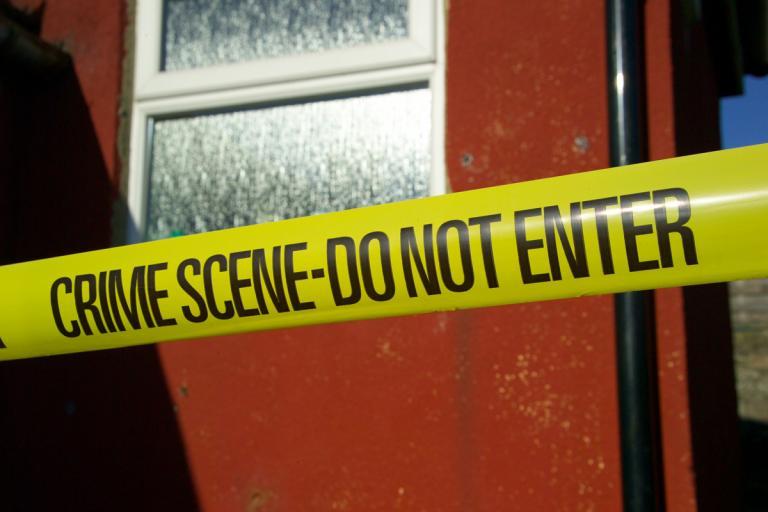 crime scene (copyright freefotouk:Flickr)
