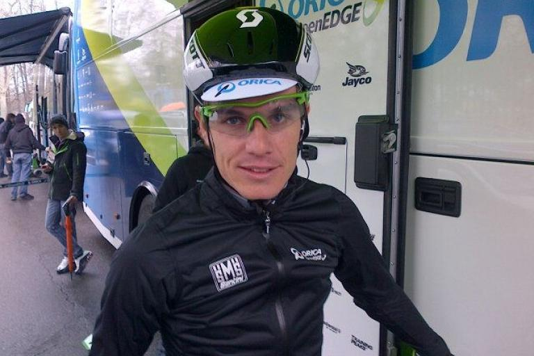 scott's new aero road helmet