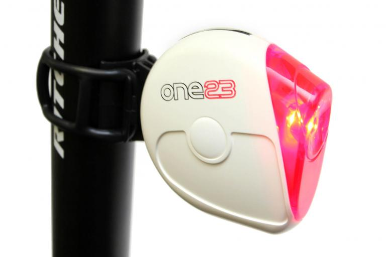 One23 Extra bright rear LED mounted