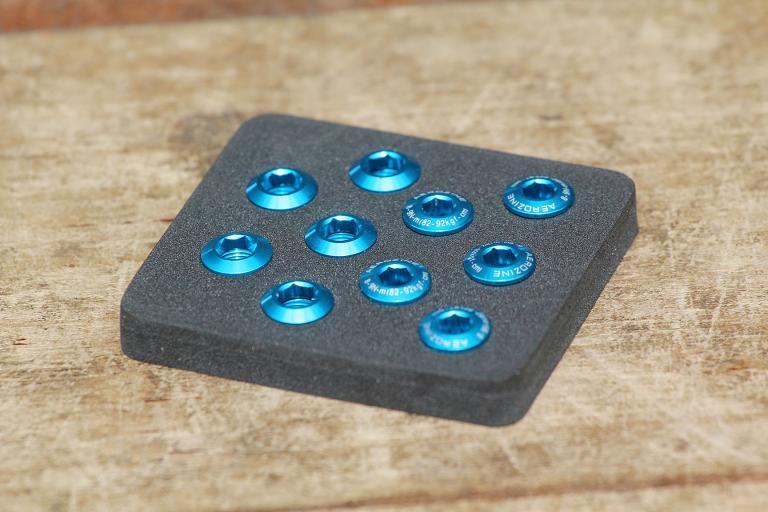 Aerozine Chain Ring Bolt Kit