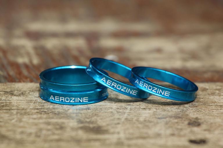 Aerozine Coloured Headset Spacers